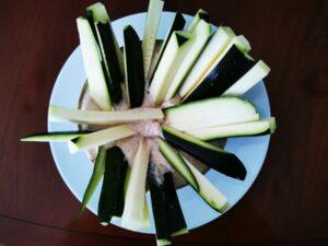 www.stoffwechsel-optimierung.eu - Zucchini-Sticks mit Hühnerbrust-Dip-Sauce